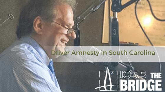 Driver Amnesty in South Carolina