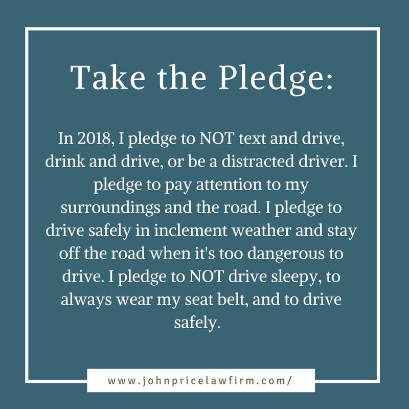 2018 Safe Driving Pledge